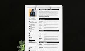 Minimal Free Resume Template Ai And Eps Uplabs