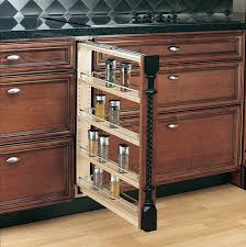 Home > Spice Racks > Base Cabinet Pull Out Spice Rack 3 6 or 9 wide