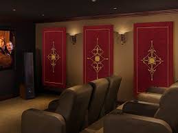 royale red acoustic panels