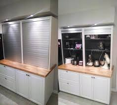 Kitchen Tambour Door Kit Appliance Garage Ideas Dropress Gazebos