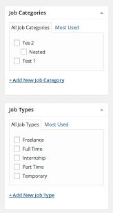 Adding Jobs via Admin – WP Job Manager
