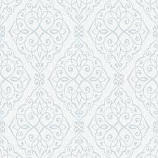 white wallpaper design texture. Simple White CROWN JASMINE WALLPAPER TEXTURED SCROLL FEATURE WALL DECOR IVORY WHITE BLUE  NEW To White Wallpaper Design Texture L