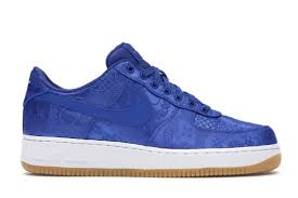 Light Up Air Force Ones For Sale Air Force 1 Low Clot Blue Silk