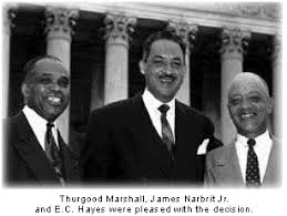 brown vs board of education thurgood marshall
