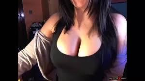 Busty girl on webcam