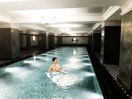 the ned soho house basement pool Rollin Joint