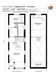 tiny house cypress floor plan