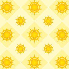 Sun Pattern Amazing Seamless Pattern With Sun Background Labs