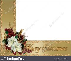 gold ribbon border christmas border gold ribbons illustration