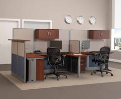 incredible cubicle modern office furniture. Amazing Office Room Using Modern Computer Desk Also Black Rolling Chairs Incredible Cubicle Furniture