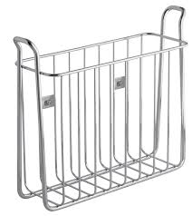magazine rack wall mount: home ugt wall mount metal magazine rack safco  pocket steel rotary magazine rack