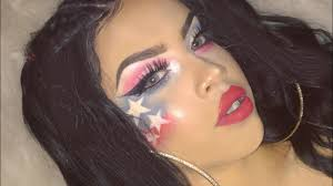4th of july makeup tutorial