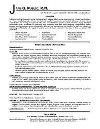 Sample Resume For Nurses Applying Abroad
