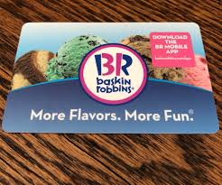 baskin robbins gift card check balance ziesite co