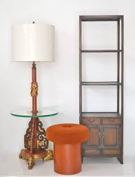 glamorous hollywood regency asian floor lamp circa 1940s 1950s this striking standing lamp