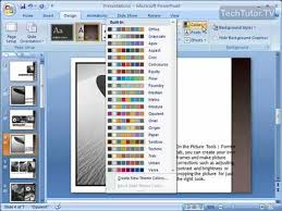 Theme For Powerpoint 2007 Change A Themes Colors In Powerpoint 2007