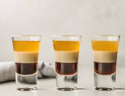 Specific Gravity Chart For Layering Drinks And Shots