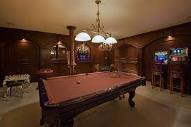 Image of: Billiard Room Decorating Design