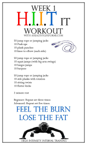 all over hiit it workout