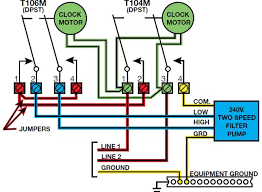 intermatic t104 wiring diagram wiring diagram how to wire a 110 volt intermatic pool pump timer ehow