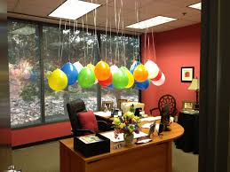 birthday office decorations. so 26 balloons later i was too exhausted to actually exercise birthday office decorations