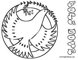 Colouring Pages For Kids Printable Christmas