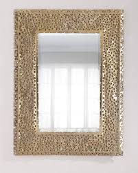 burned edge mirror