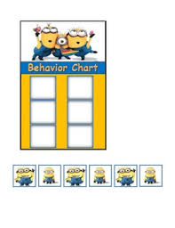 Minion Behavior Chart Minion Behavior Chart Worksheets Teaching Resources Tpt
