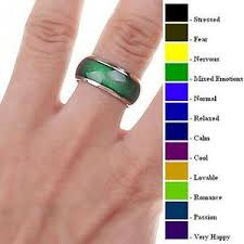 Mood Ring Chart Details About Mood Ring Size 6 6 5 8 9 10 With Mood Chart Buy 2 Get One Free