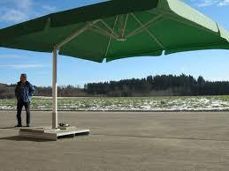 image of 11 foot cantilever patio umbrella