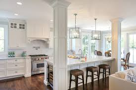 san francisco kitchen island stove with traditional standard height dining sets5 and contemporary white pillars
