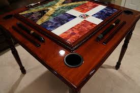 This gorgeous domino table will be going out to it's new owner Jenna in  Naples Florida