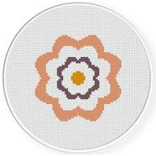Cross Stitching Patterns Magnificent 48 Simple Flower Cross Stitch Pattern Daily Cross Stitch