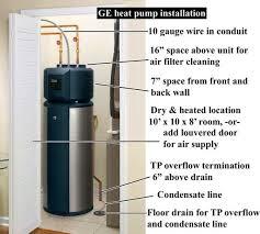 ge heat pump manuals by date