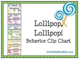 Lollipop Lollipop Behavior Clip Chart Classroom Behavior