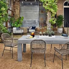 modern metal patio furniture. Wonderful Patio Modern Teak Outdoor Dining Table Intended Metal Patio Furniture C