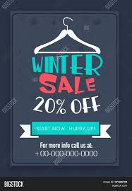 creative winter flyer banner or template % discount creative winter flyer banner or template 20% discount offer