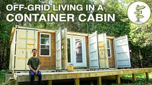 Shipping Crate Home Living Off Grid In A Self Built 20ft Shipping Container Mobile