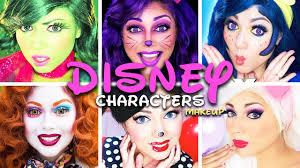 disney characters makeup pilation charisma star