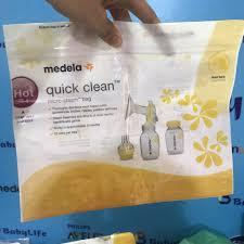 Mã FMCGSALE44 giảm 8% đơn 500K] Túi tiệt trùng lò vi sóng phụ kiện máy hút  sữa, bình sữa các loại giá cạnh tranh