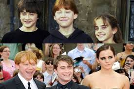 rupert grint and emma watson and daniel radcliffe then and now. Exellent And For The Past Decade Audiences Around World Have Watched Daniel  Radcliffe Emma Watson And Rupert Grint Transform From Unknown Child Actors To Bonafide  In And Radcliffe Then Now P