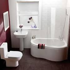 Gorgeous Small Bathroom Design With Pleasant Bathtub Shower Combo