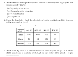 Solved Really Need Help With This Organic Chemistry Homew