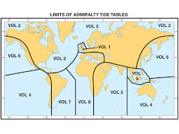 Changes To Coverage Of Admiralty Tide Tables 2016