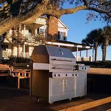 freestanding outdoor grills