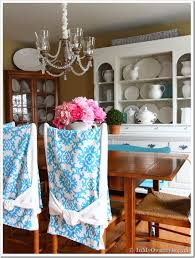 dining room chair slipcover tutorial