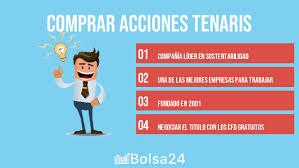Comprar acciones Tenaris: guía completa - Bolsa 24