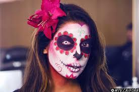 mexican sugar skull makeup tutorial fun lipstick