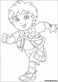 Printable Go Diego Go Disney Characters Coloring Page Printable