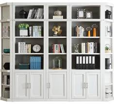 Parker House Catalina 5 Piece Library Wall in White 4
